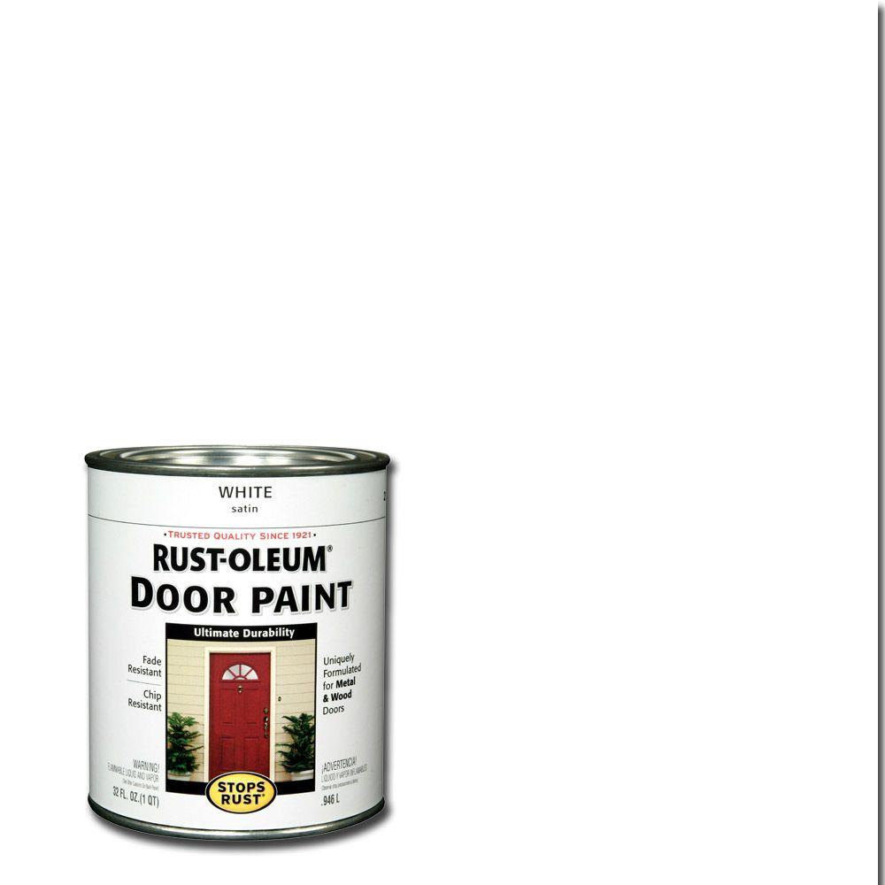 1 qt. White Door Paint (2-Pack)