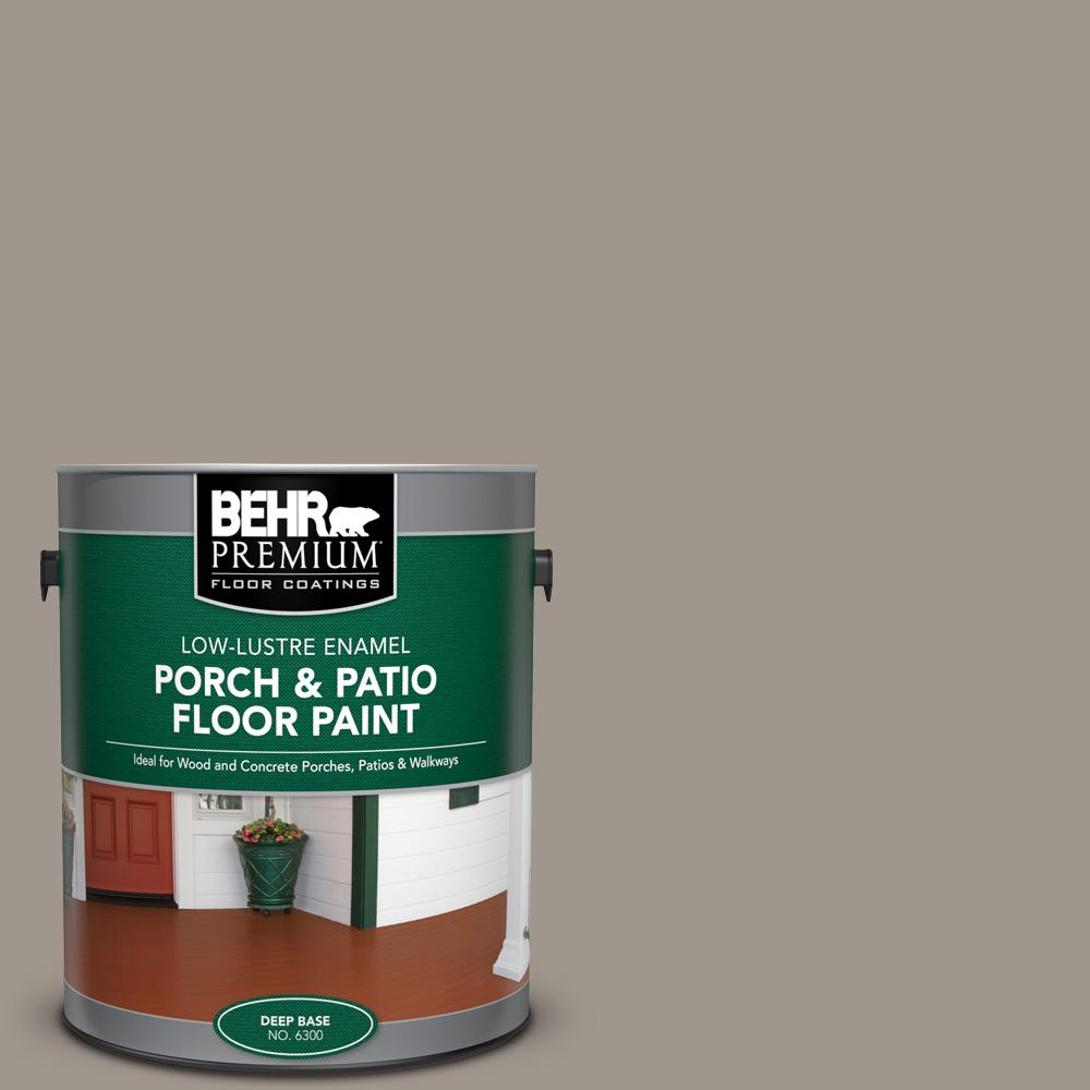 1 gal. #PFC-73 Pebbled Path Low-Lustre Enamel Interior/Exterior Porch and Patio Floor Paint
