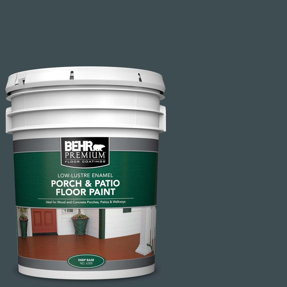 5 gal. #S440-7 Thermal Low-Lustre Enamel Interior/Exterior Porch and Patio Floor Paint