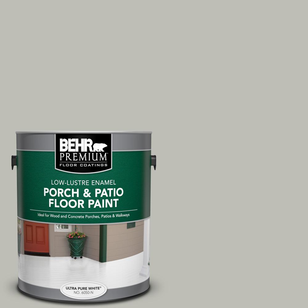 1 gal. #N370-3 Light Year Low-Lustre Enamel Interior/Exterior Porch and Patio Floor Paint