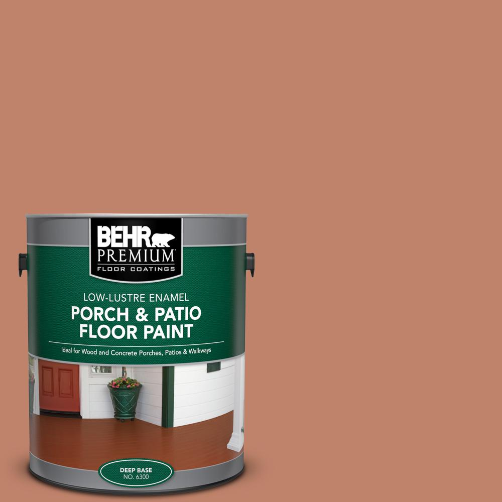 1 gal. #PFC-13 Sahara Sand Low-Lustre Enamel Interior/Exterior Porch and Patio Floor Paint