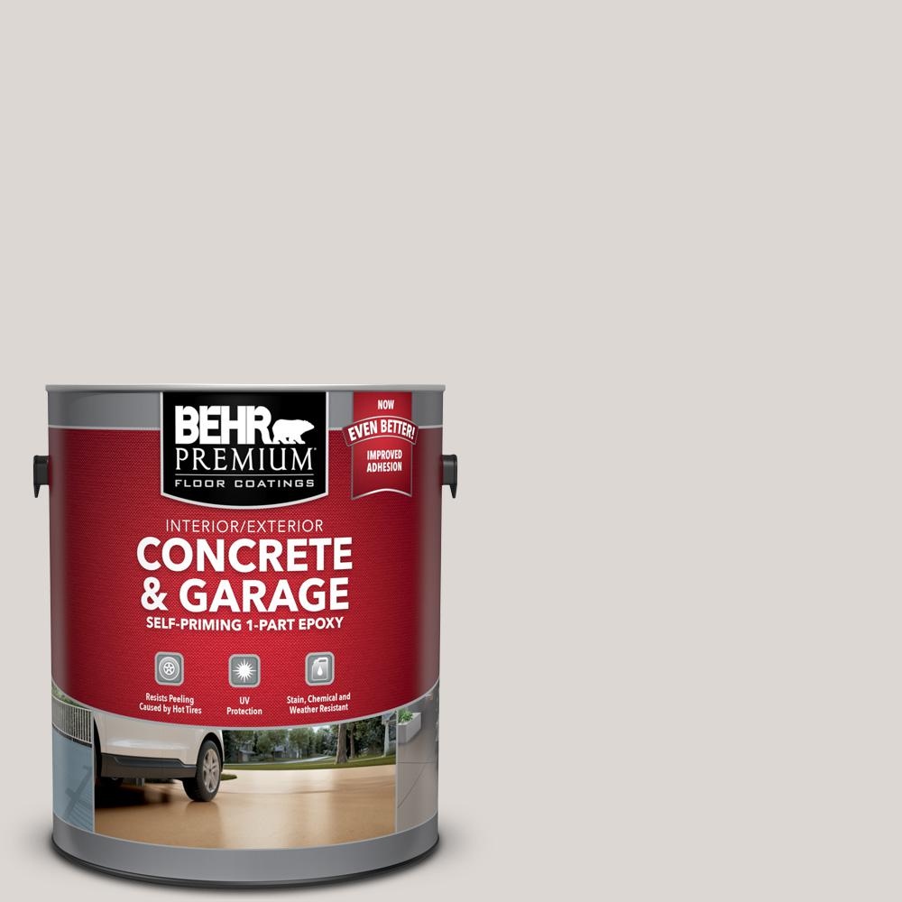 1 gal. #N320-1 Campfire Ash Self-Priming 1-Part Epoxy Satin Interior/Exterior Concrete and Garage Floor Paint