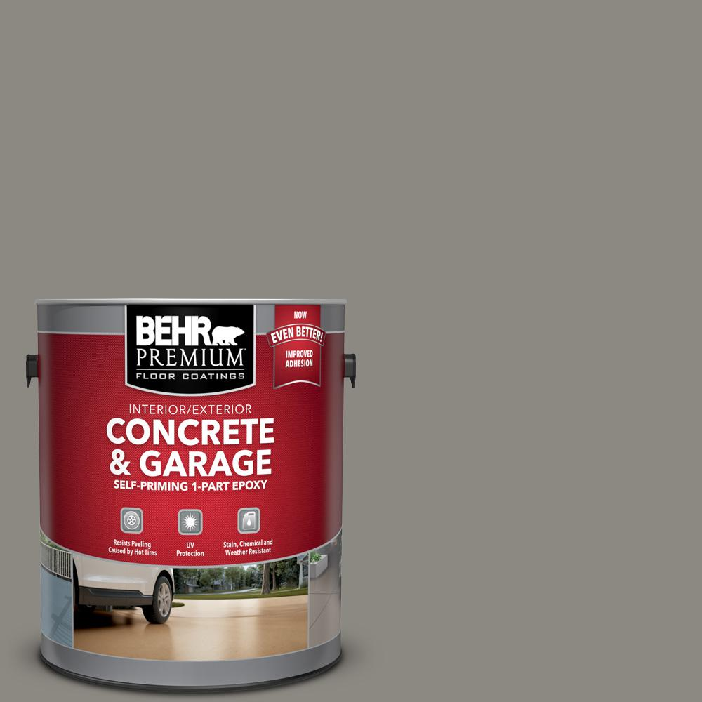 1 gal. #BXC-55 Concrete Sidewalk Self-Priming 1-Part Epoxy Satin Interior/Exterior Concrete and Garage Floor Paint
