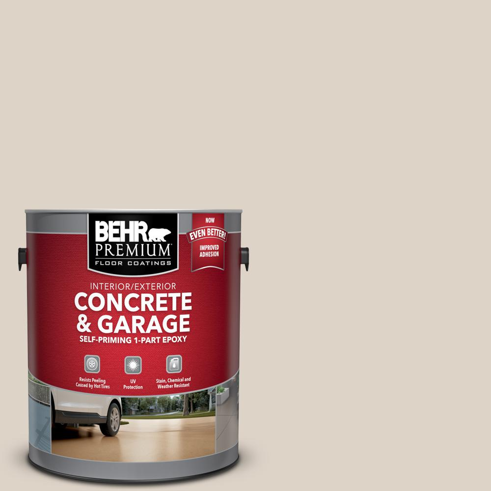 1 gal. #ECC-43-1 Sonoran Sands Self-Priming 1-Part Epoxy Satin Interior/Exterior Concrete and Garage Floor Paint