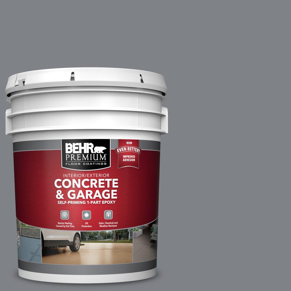 5 gal. #N530-5 Mission Control 1-Part Epoxy Satin Interior/Exterior Concrete and Garage Floor Paint